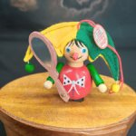 Елочная игрушка Шут от Steinbach. Германия. 9 см