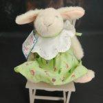 Кролик Hoppy Vanderhare. Весенние шляпки. 20 см