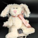 Белый Кролик от Boyds Bears Co. 22 см. Мохер. Винтаж. 1997 год