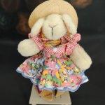 Кролик Hoppy Vanderhare. Девушка Ковбой. 1990 год. Винтаж. 20 см