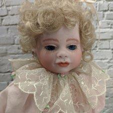 Авторская кукла от Mary Lambert. Фарфор. 38 см