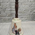 Большой колокольчик от Gorham. 1985 год. Святочные мечты.
