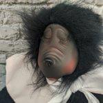 Мишка-сплюшка в розовом от Georgette Zlomke. 38 см