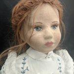 Редкая тканевая кукла от Karin Heller. 1989 год. #50/500