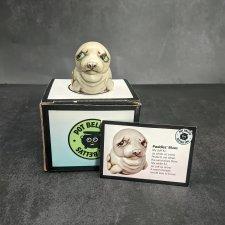 Тюлень-шкатулка от Harmony Kingdom. Печальные животные.