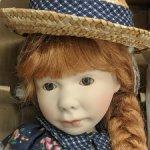 Фарфоровая кукла Лизбет от Pam Hamel. 32 см