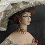 Авторская кукла Мадемуазель от Jacqueline Beaulieu. Цена до конца июня!