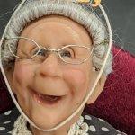 Старушка от Richard Simmons. 90-летие бабушки.