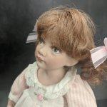 Авторская кукла Европа от Lawlee O'Connor.