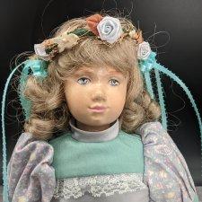 Деревянная кукла Эми Лу от Edna Hibel. #9/10. Рассрочка!