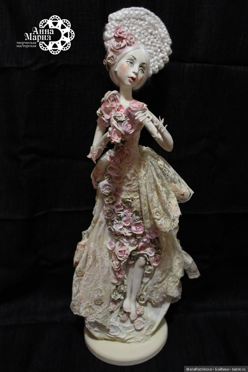 """Статичная кукла """"Цветение"""""""