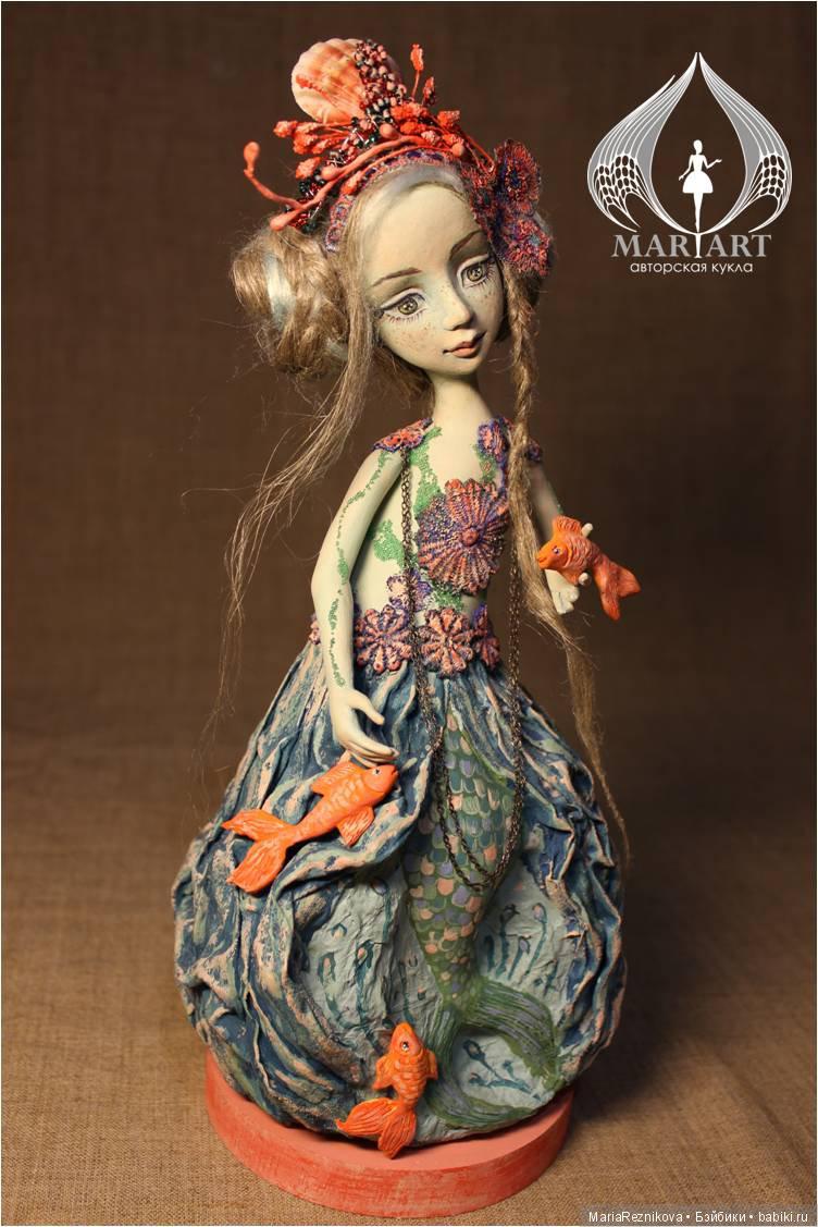 Статичная кукла Принцесса подводного царства