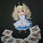 Кукла Блайз, образ Алисы, Blythe.