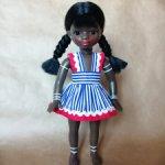 Кукла СССР, Негритянка, девочка.