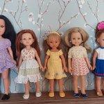 Испанские куклы разные