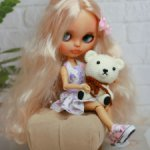 Продам/обменяю блондиночку Blythe кастом тбл