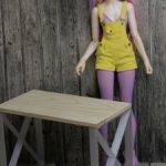 стол для кукол МСД формата
