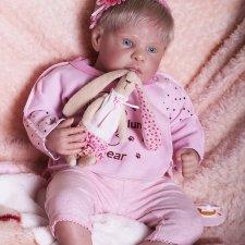 Кукла реборн из лимитированного молда Мелани от Ирины Капланской