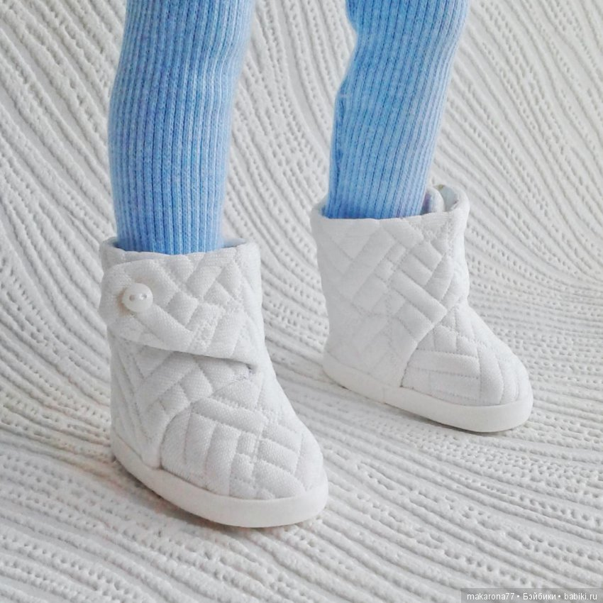 Наталья Макарова. Обувь для кукол Паола Рейна