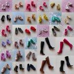Много разной обуви для Барби