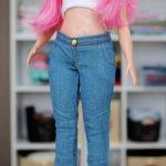 Джинсы для Барби Пышки