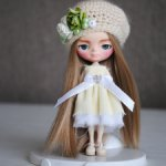 Кастомная кукла Петит Блайз с лепкой