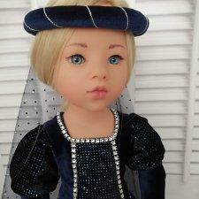 Исторический наряд для куклы ГОТЦ
