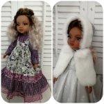 Лот нарядов для кукол Паола Рейна