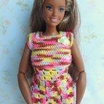 Платье для пышной Барби