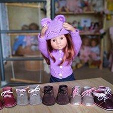 Обувное вдохновение (Обувь для Готц + выкройки)