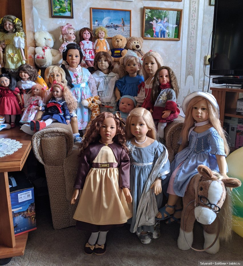 картинки где много кукол собой