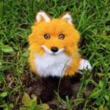 Показываю лисичку на видео