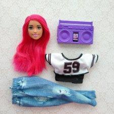 Голова, одежда, магнитофон от Барби Уличные танцы.