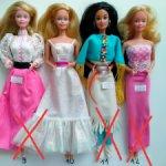 Куклы Барби 80-90 в одежде