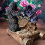 Медвежата Бу и Бо и пень трухлявый