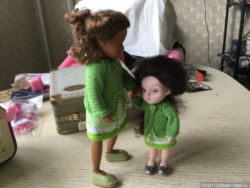 Сестрички в гости. Здравствуйте)))