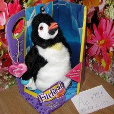 """Интерактивный пингвиненок из серии """"Новорожденные"""" от Furreal Friends,Hasbro"""