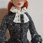 Кукла Barbie Silkstone Black & White Tweed Suit