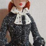 Кукла Barbie Silkstone Black & White Tweed Suit