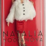 Шубка от аутфита Barbie Водяновой