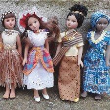 Фарфоровые куклы ДеАгостини. Куклы в костюмах народов мира