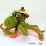 Харизматичная осьминожка мадам Брошкина