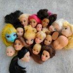 Расхомяк кукольных голов