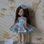 Нарядное платье для кукол Paola Reina и им подобных.