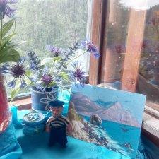 Цвет настроения синий, васильковый, голубой