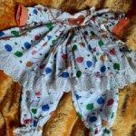 Костюмчик из жатого хлопка для куклы 50-60см