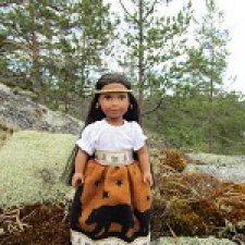 Josefina mini American Girl в Карелии