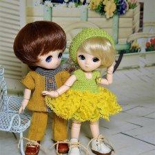 Про моих кукол OBITSU 11