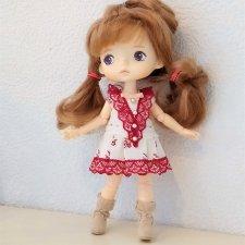 МК «Шьем платье для кукол XIAOMI MONST»