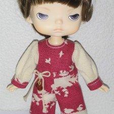 МК «Пышный рукав в одежде для кукол XIAOMI MONST»
